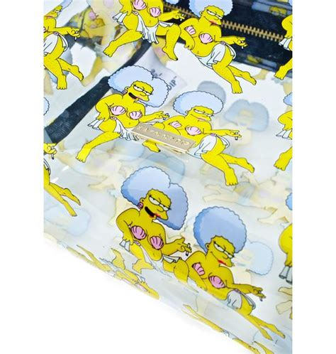 skinnydip x the simpsons patti selma washbag dolls kill