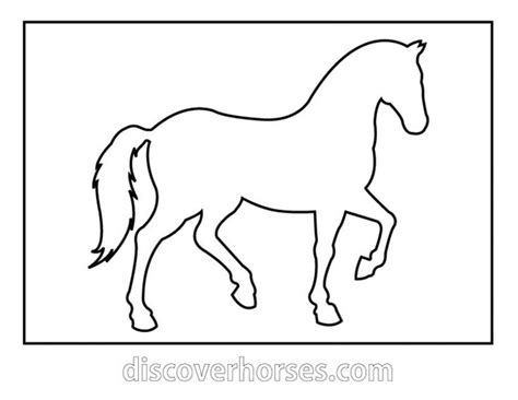 Print Out Coloring Wall Pictures Horses