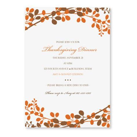 thanksgiving dinner invitation template  loveandpartypaper