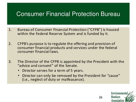 consumer financial protection bureau the impact of the dodd frank act on your bank