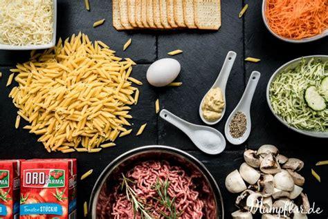 hackbaellchen mit pasta pssst mit verstecktem gemuese