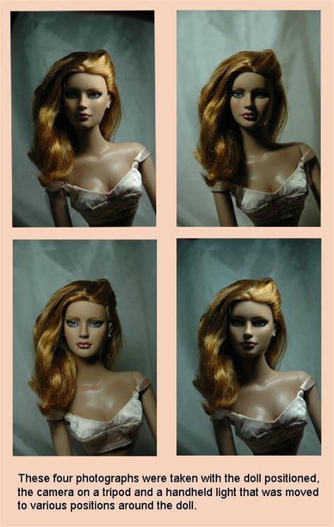 part  doll photography lighting