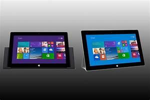 Microsoft Surface 2 Vs  Surface Pro 2  Spec Comparison