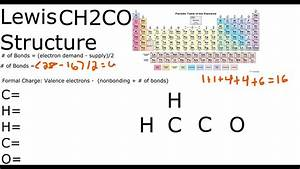 Ch2co Lewis Structure