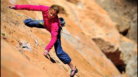 Worlds Best Female Free Climber 19 Year Old Sasha