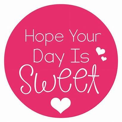 Valentine Sweet Tags Gift Printable Hope Treat