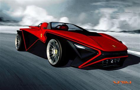 concept cars and trucks farrari and bugatti concepts by
