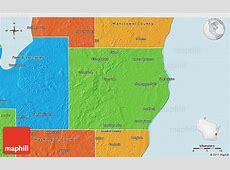 Wisconsin County Map Gis Sheboygan 9