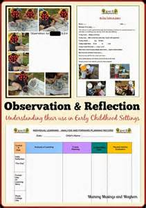 Early Childhood Observation and Reflection