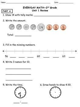 everyday mathematics 5th grade study links unit 10