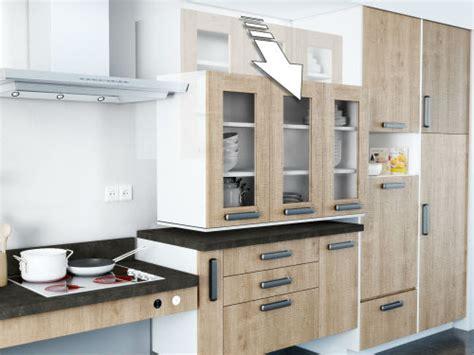 hauteur meuble haut cuisine rapport plan travail