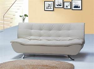 designer ivory faux leather sofa bed 4 seater with With ivory sofa bed