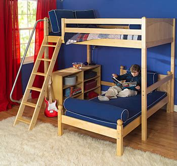 perpendicular bunk beds put safety with the maxtrix children s furniture