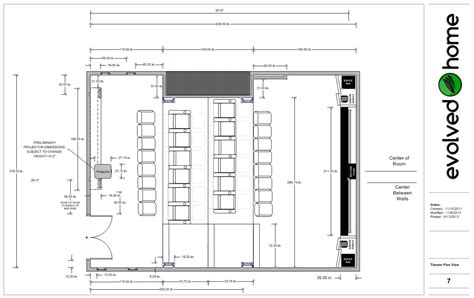 Home Theater Floor Plan by Home Theater Floor Plan Plougonver