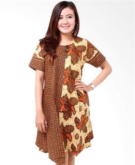 alchandra batik casual mini dress sale stock indonesia gaun