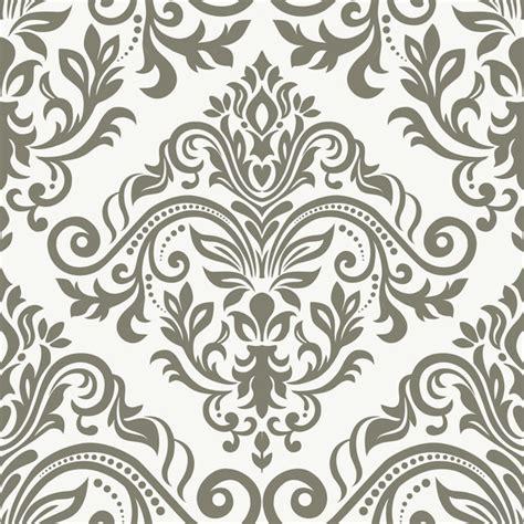 baroque ornament pattern seamless vector vintage design