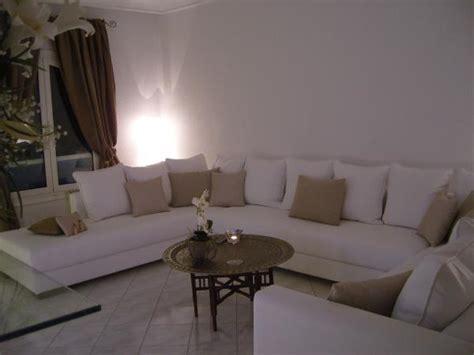 chambre en gris canapé photo 3 5 canapé blanc