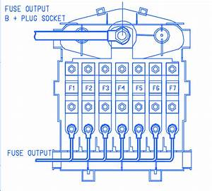 Porsche 997 2008 Main Fuse Box  Block Circuit Breaker Diagram  U00bb Carfusebox