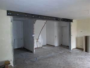 meuble salle de bain sans pied daiitcom With faire une ouverture dans un mur porteur en pierre