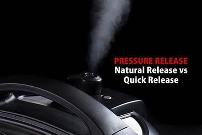 Release Pot Instant Pressure Natural Quick Cooker