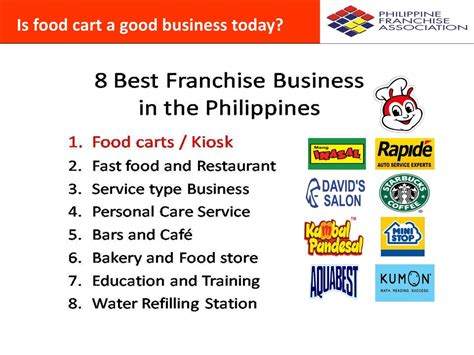 food cart franchise philippines business investment jc premiere franchisee