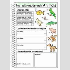 Read  Match  Describe  Create Animals (3)  Description  Pinterest  Animal, Create And English