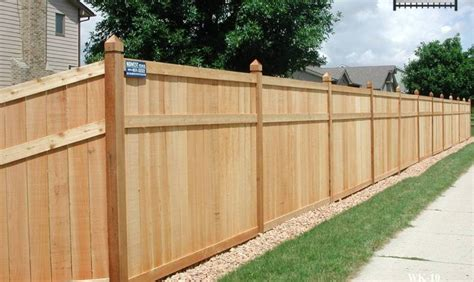 privacy fences king style wood privacy fences midwest fence