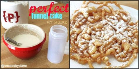 funnel cake  home perfectly created  diane