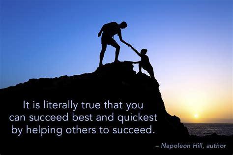 succeed  helping  quote peter barron stark