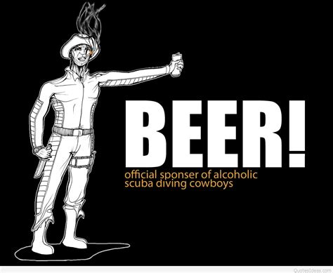 funny beer wallpaper quote