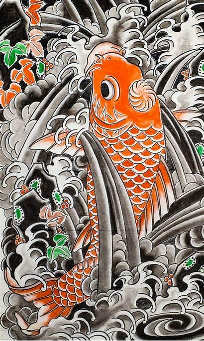 Osen Tattoo Irezumi Japanese Koi Ii Horiyoshi