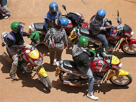 Motorcycle Taxis Go After Uber In Kenya
