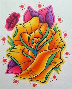 Rose Tattoo by paintball0531 on DeviantArt