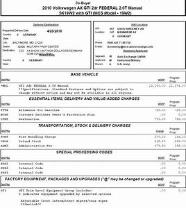 invoice price of a car invoice template ideas With golf r invoice price