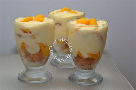 recette de mangue dessert tiramisu mangue noix de coco les d 233 lices de vanish
