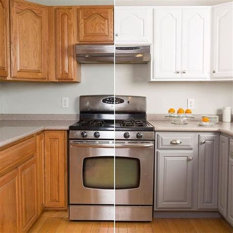 home depot cabinet paint makeover your kitchen cabinets with the help of the rust