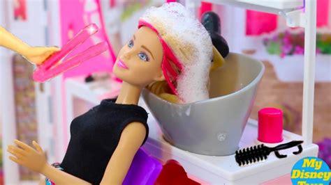 Barbie Baby Dolls Hair Wash And Hair Cut