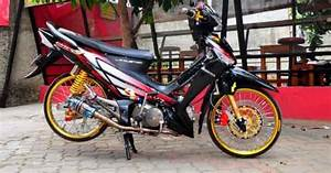 Model Supra X 125 Thailand Style Modifikasi