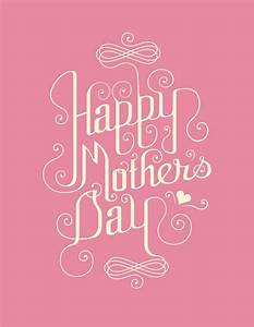 30+ Free Printable Vector & PSD Happy Mother's Day Cards 2014
