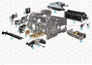 Parts Diagram For Lexmark T640