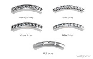 mens wedding bands two tone diamonds settings rings and band types house