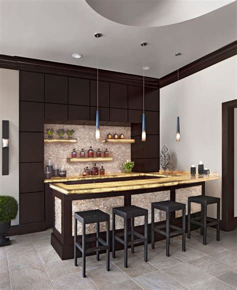 Contemporary Home Bar by 17 Contemporary Home Bar Designs You Re Going