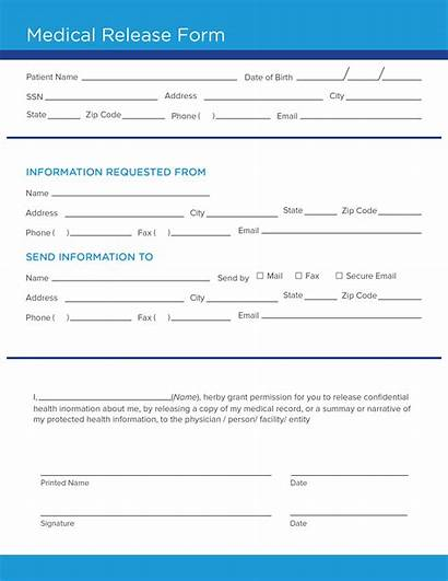 Medical Release Form Template Info Carecloud Forms