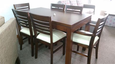 juego de comedor extensible minimalista viena muebles