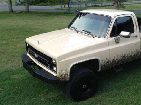 Find Used 1985 Chevrolet Silverado K10 In Pineville