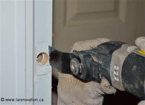 comment installer une poignee de porte exterieur comment installer une serrure de porte free