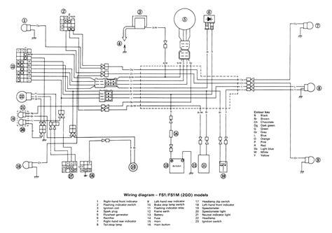 wiring diagram yamaha fs1 fs1 el scheman electrical diagram