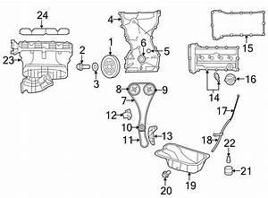 Dodge Avenger Engine Crankshaft Pulley  2 4 Liter  200