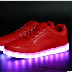 Low Top Shoes Light-Up