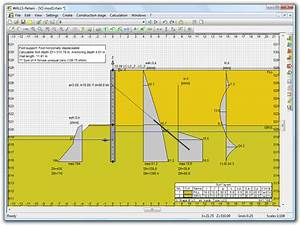 Sheet pile wall design xls : Fides dv partner walls retain calculation of retainment